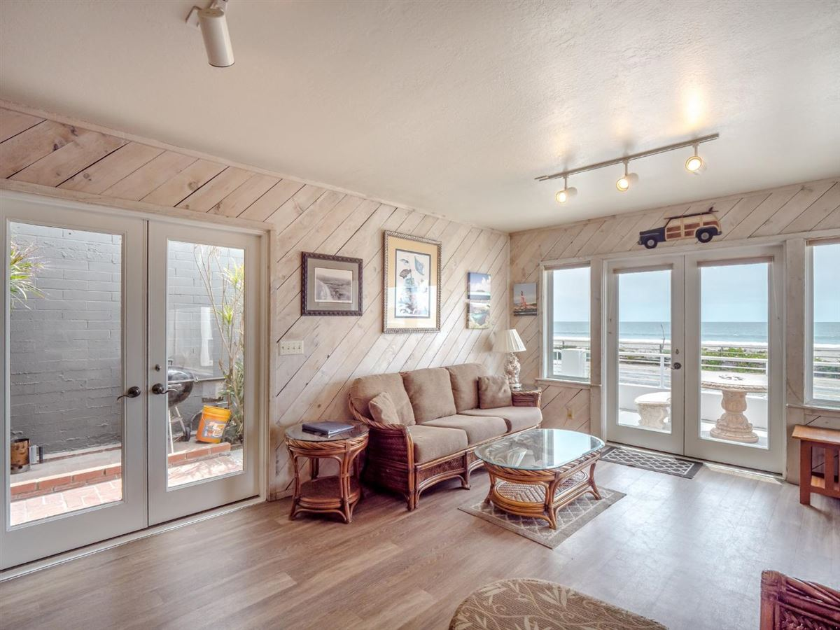 Luxury real estate charming ocean front home