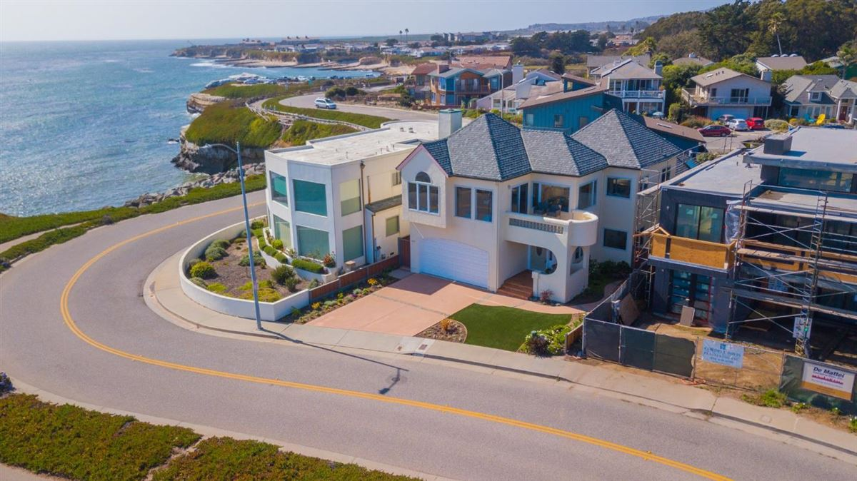 Luxury homes in West Cliff Drive home