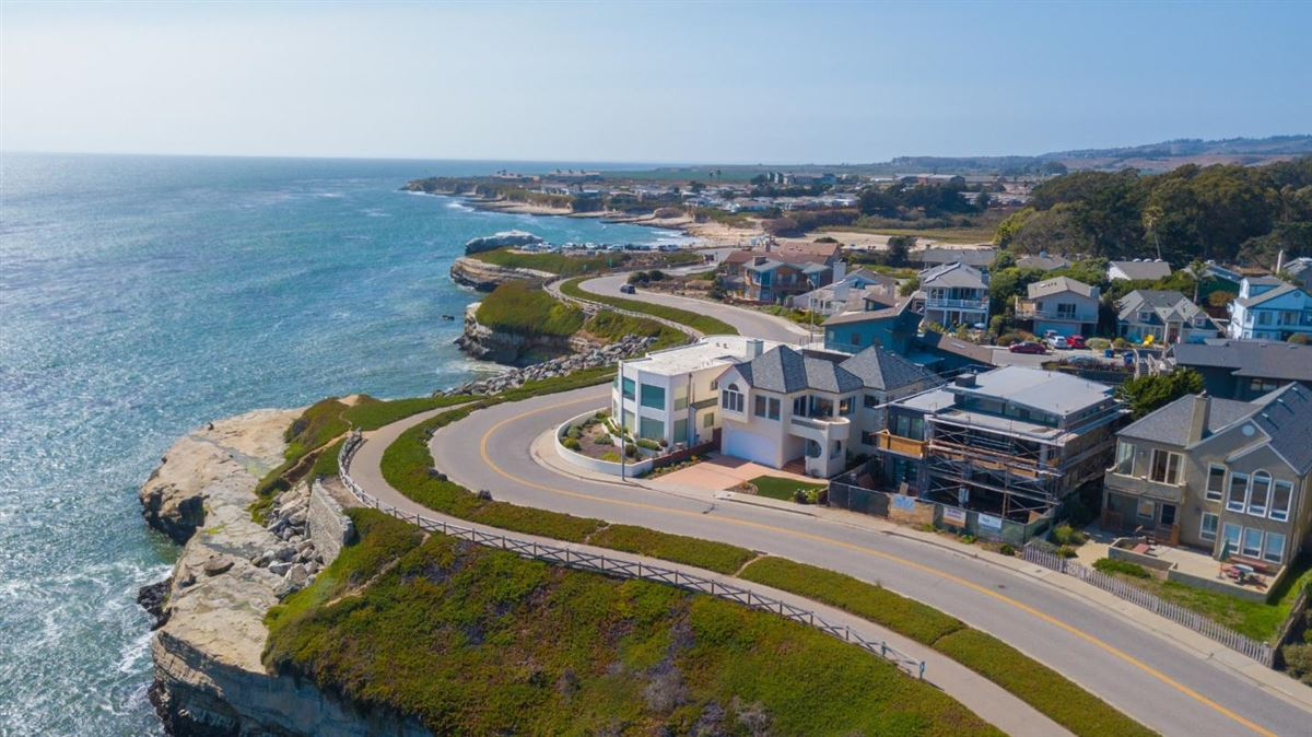 Luxury real estate West Cliff Drive home