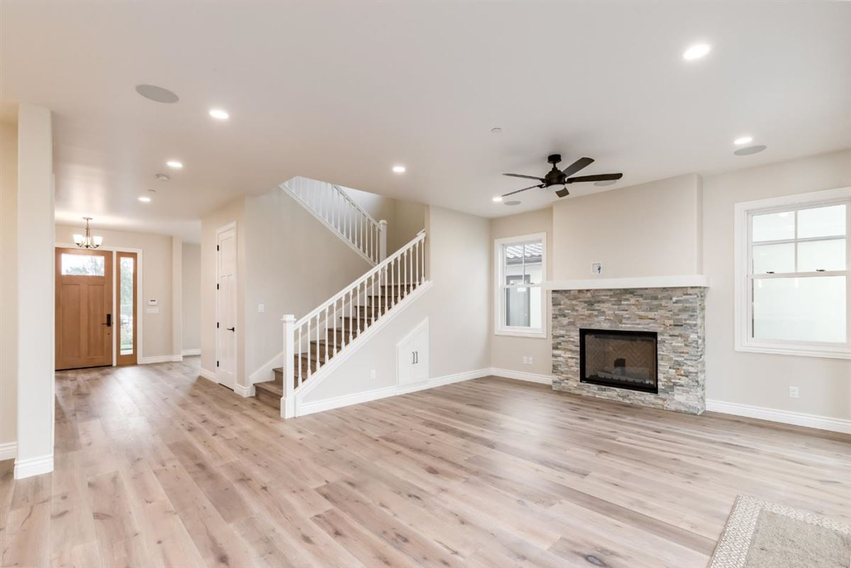 Mansions in new custom home in Benson Avenue Subdivision