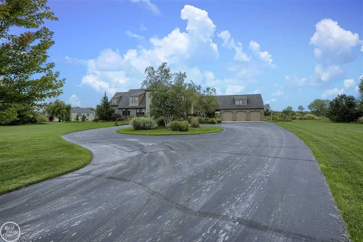 custom built French Country Manor  luxury homes