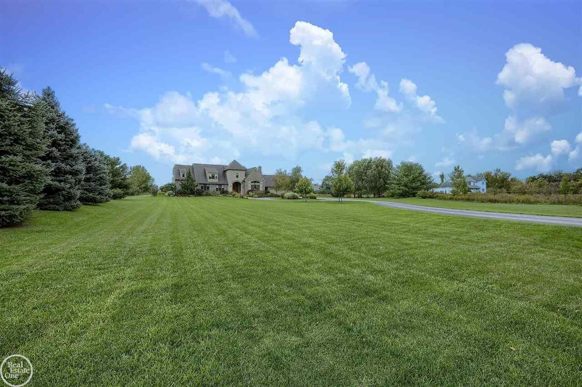 Luxury real estate custom built French Country Manor