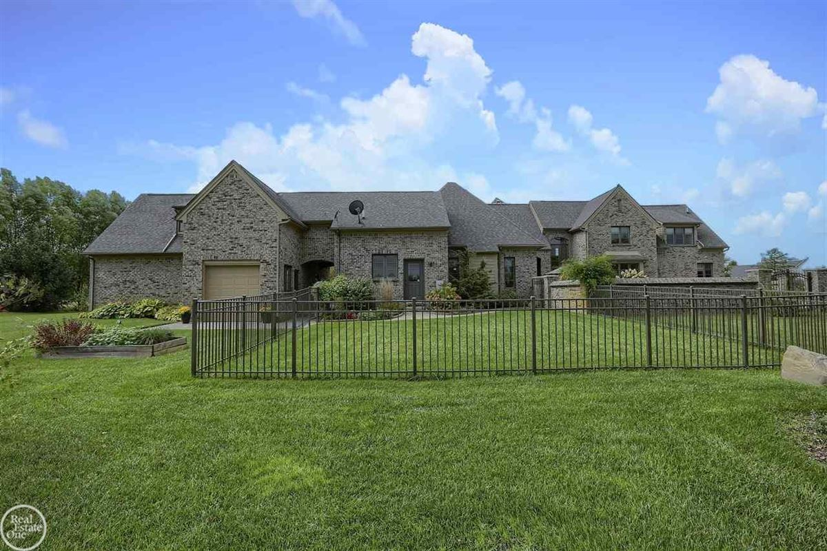 Mansions custom built French Country Manor