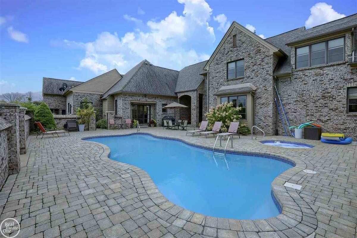Luxury homes in custom built French Country Manor