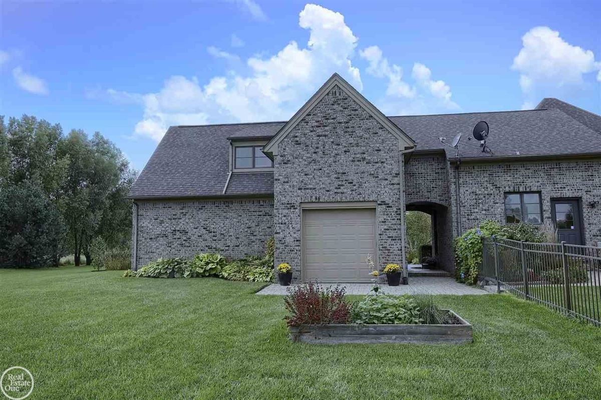 custom built French Country Manor  luxury real estate