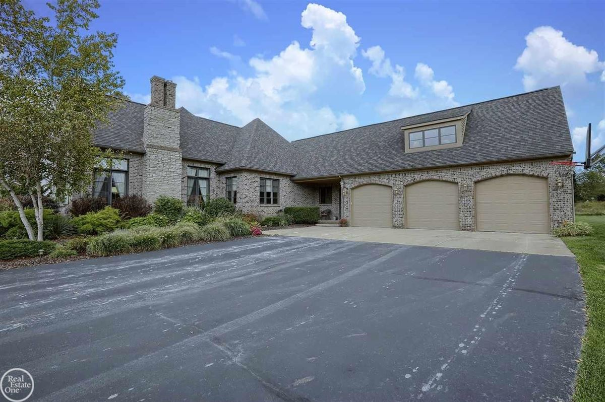 Luxury properties custom built French Country Manor