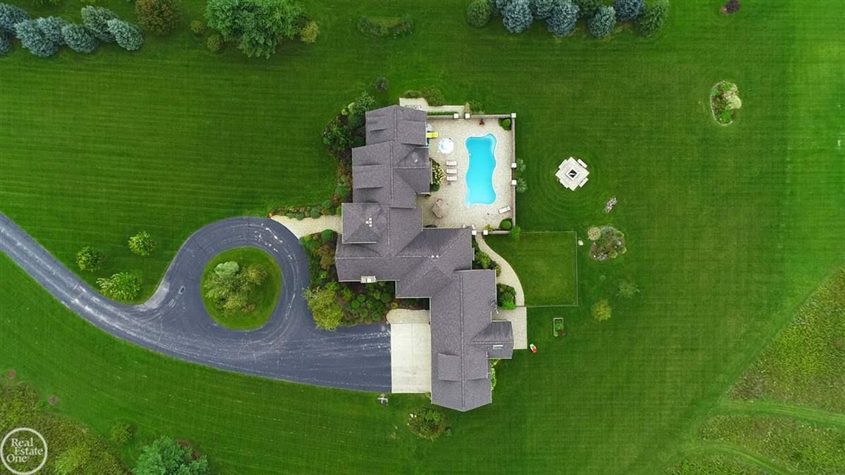 custom built French Country Manor  mansions