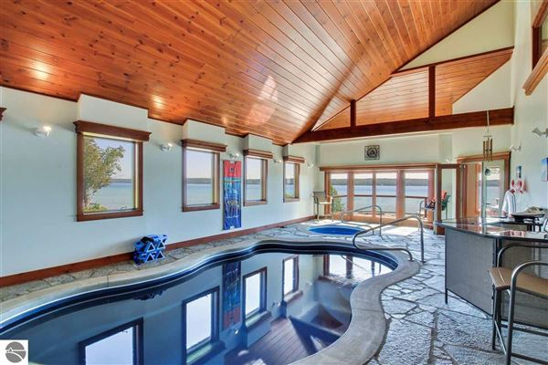 Luxury homes in no detail overlooked in this Stunning Home on Torch Lake