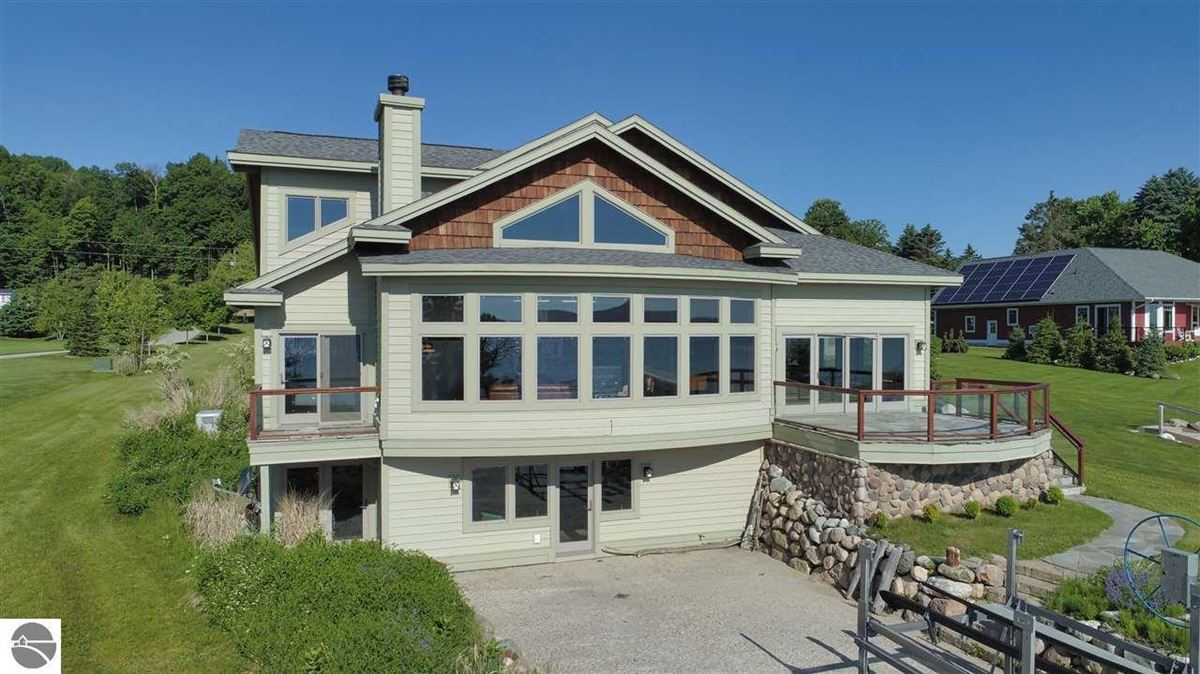 Mansions no detail overlooked in this Stunning Home on Torch Lake