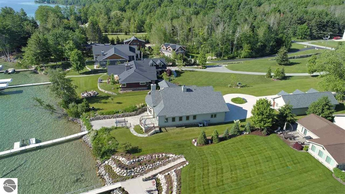 no detail overlooked in this Stunning Home on Torch Lake luxury homes