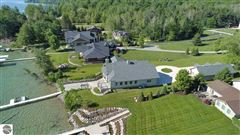 no detail overlooked in this Stunning Home on Torch Lake luxury real estate