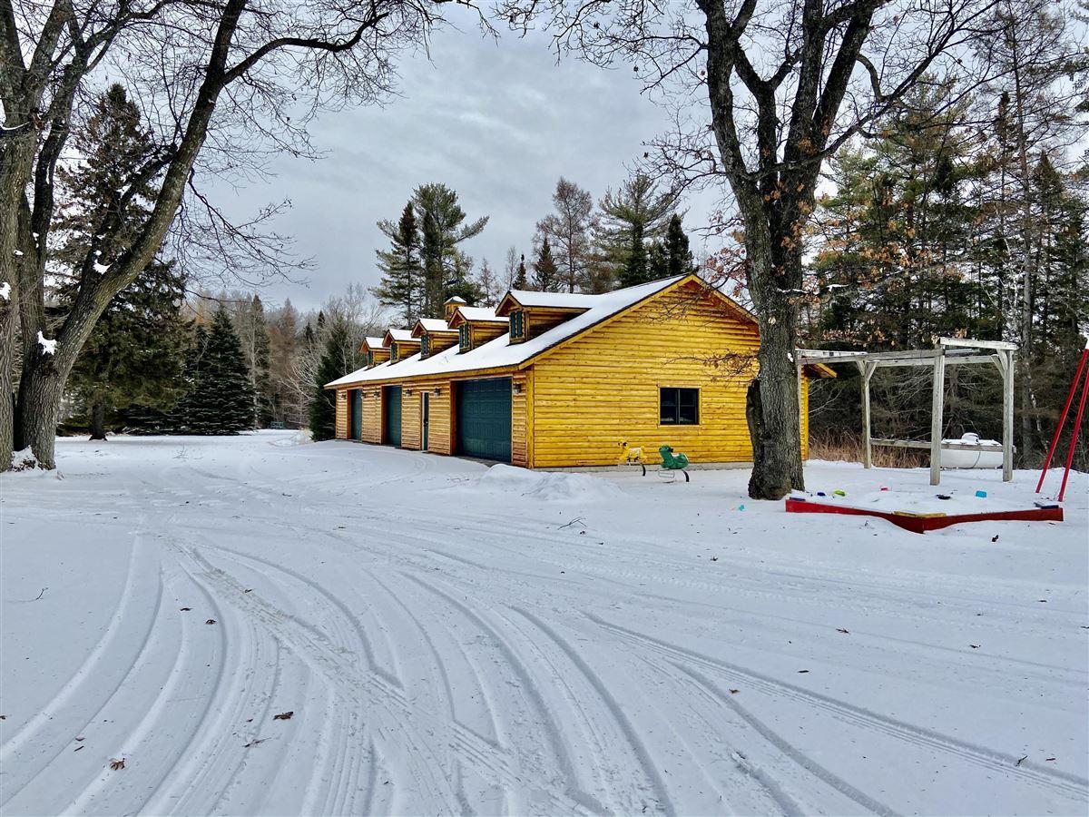 Luxury real estate prestigious log home and 400 acres