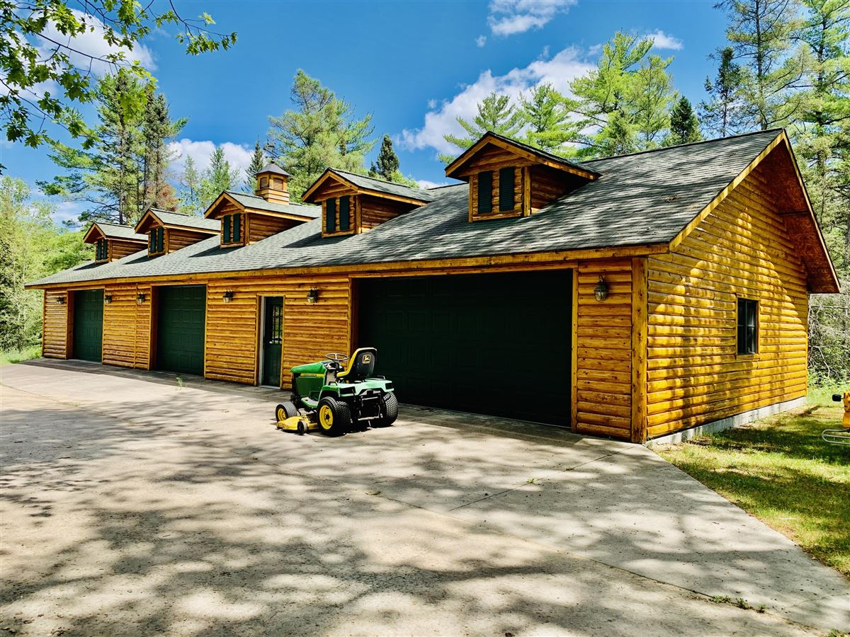 Luxury real estate prestigious log home and 400 acres