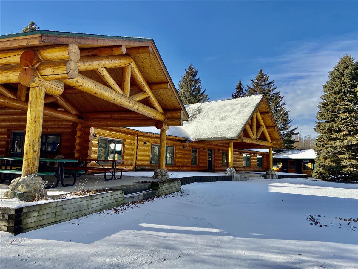 Luxury properties prestigious log home and 400 acres