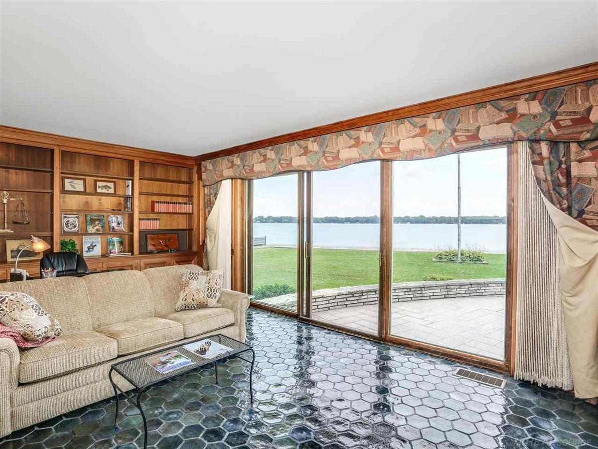 Luxury real estate this beautiful estate home boasts stunning river views