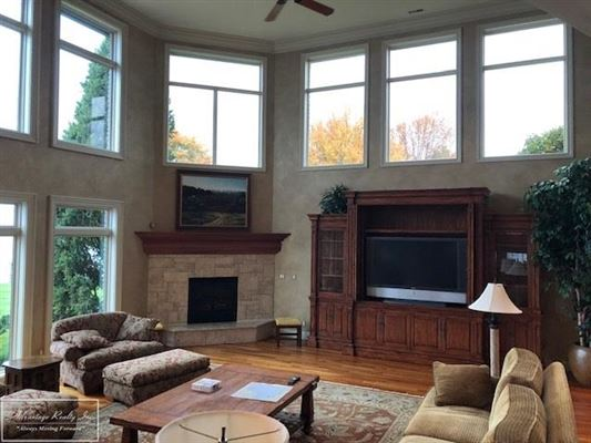 Luxury properties custom lakefront home with spectacular lake views