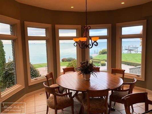 custom lakefront home with spectacular lake views luxury properties