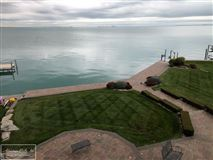 Luxury homes in custom lakefront home with spectacular lake views