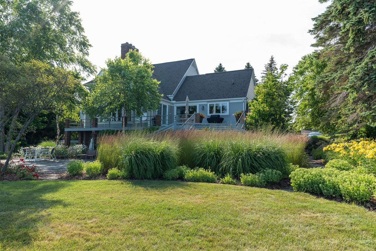 Luxury real estate Northern Michigan lakefront home