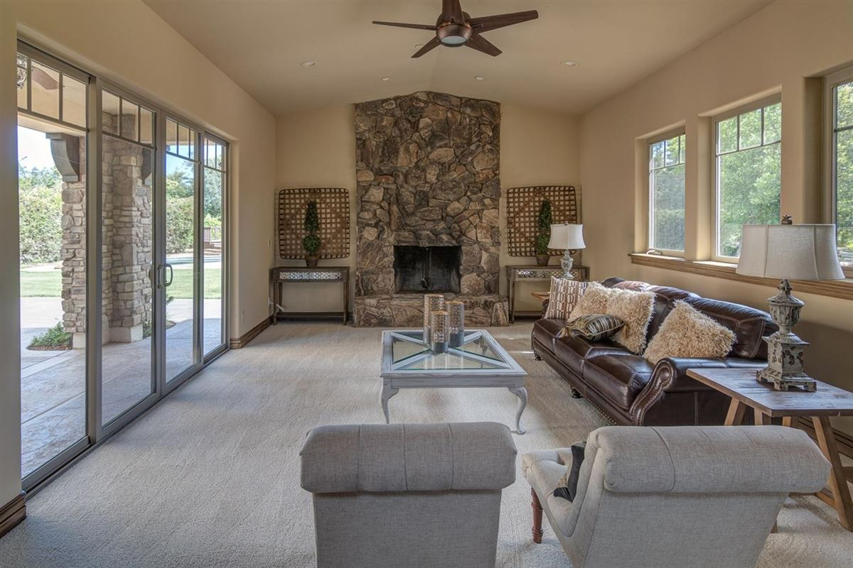 Luxury homes in Brand new Tuscan home on 10 beautiful horse property acres