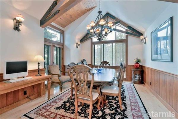 Exceptional Lake View Tahoe mountain Home luxury real estate