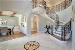 Luxury homes in elegant new construction