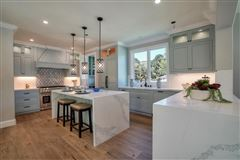 Luxury real estate elegant new construction