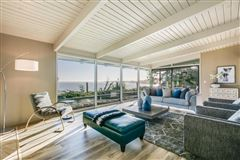 OCEANFRONT mid-century modern classic home luxury real estate