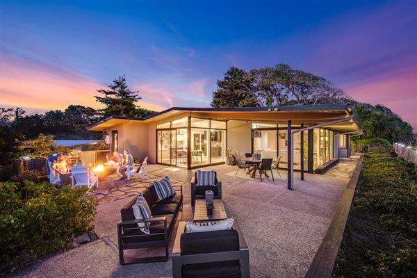 OCEANFRONT mid-century modern classic home luxury properties