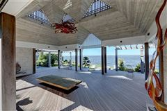 Luxury real estate Private waterfront compound