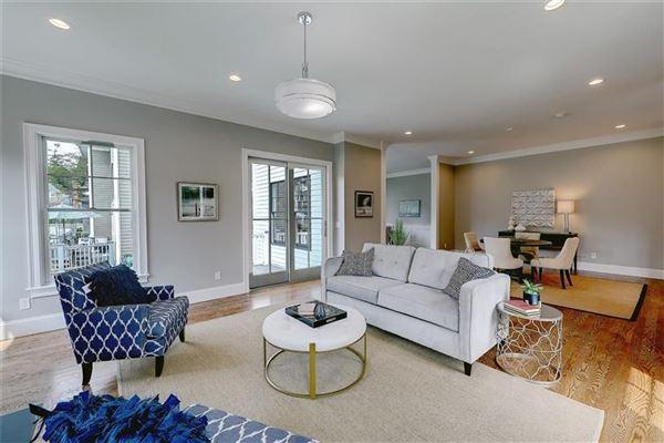 Brand new custom built Modern Farm House in prime East Side location luxury real estate
