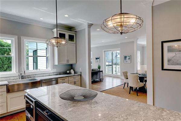 Brand new custom built Modern Farm House in prime East Side location mansions
