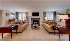 Luxury real estate  impeccably renovated classic property