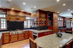 Luxury homes completely renovated Tudor style home