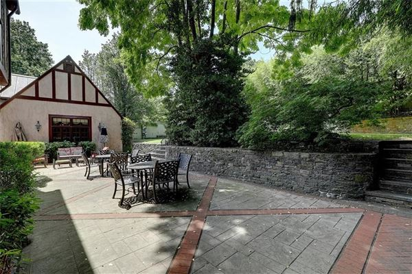 Luxury real estate completely renovated Tudor style home