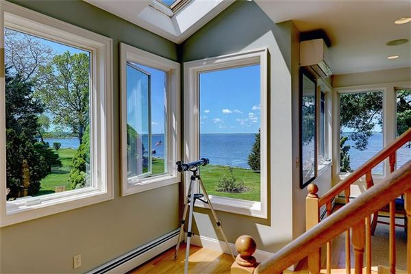 Westerly facing waterfront home luxury properties