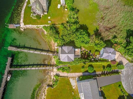 two story cottage on the water luxury properties