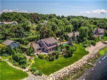 waterfront estate in Bristol Highlands luxury homes