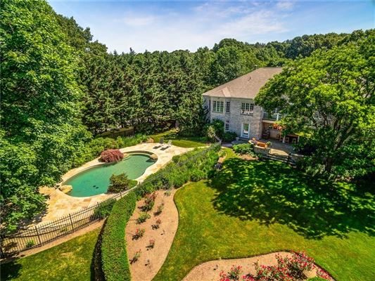 Luxury real estate truly spectacular home set back on almost three acres