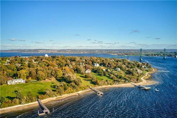 Luxury homes five-plus acre waterfront estate