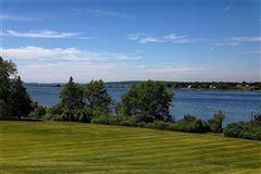 Luxury properties five-plus acre waterfront estate