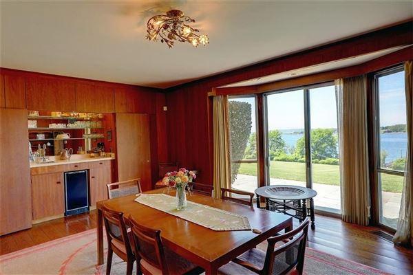 Luxury real estate five-plus acre waterfront estate