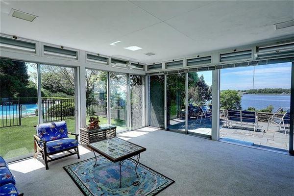 five-plus acre waterfront estate luxury properties