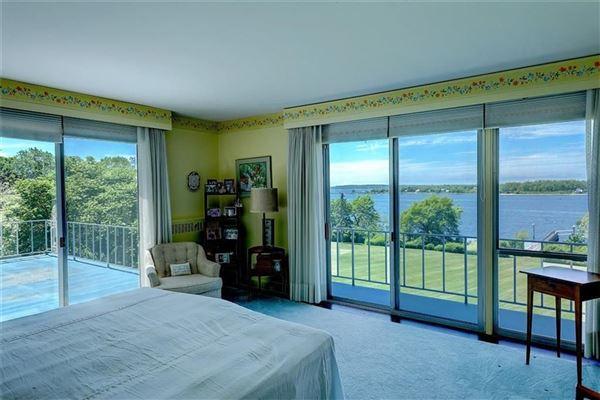Mansions five-plus acre waterfront estate