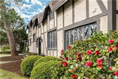 Mansions in Revived and Restored Resemblance of the Anne Hathaway Cottage