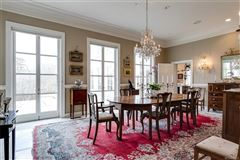 magnificent home beautifully sited on over five acres overlooking Lake Reed mansions