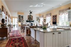 Mansions in magnificent home beautifully sited on over five acres overlooking Lake Reed