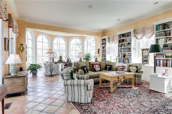 Luxury homes magnificent home beautifully sited on over five acres overlooking Lake Reed