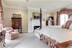 Luxury homes in magnificent home beautifully sited on over five acres overlooking Lake Reed