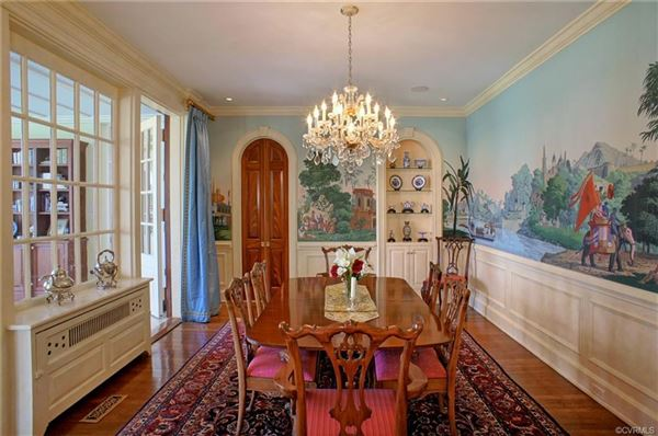 Luxury real estate a 32.9-acre gated country estate in Eastern Goochland